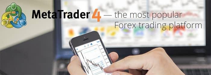 Online brokers with MetaTrader 4 platform